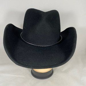 Scala Western Style Hat with Reshape-able Brim